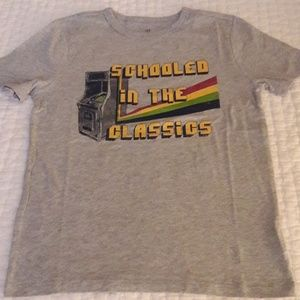 "Brand new ""schooled in the classics"" tee"